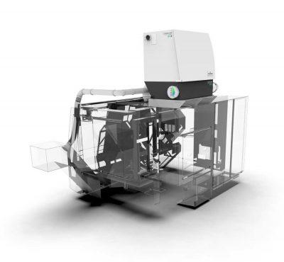 FILTRACON oil mist collector tooling machine Absolent on Miyano Kestenholz