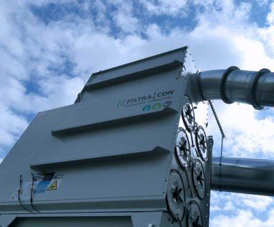 FILTRACON dépoussiérage filtre à cartouche usinage carbone ATEX Porrentruy