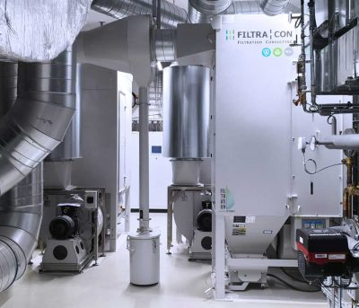 FILTRACON dépoussiéreur filtre à cartouche dépoussiérage métal fritté Planfayon