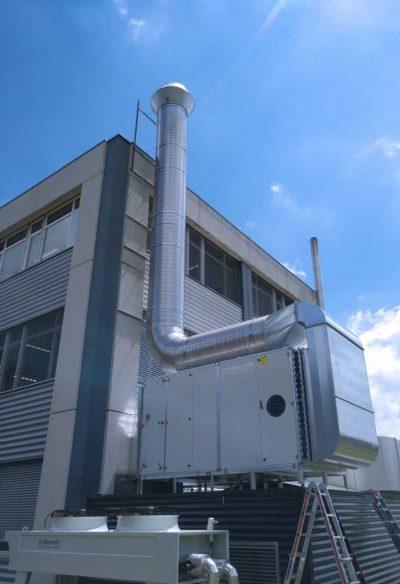 FILTRACON odor treatment activated carbon Le Crêt-du-Locle