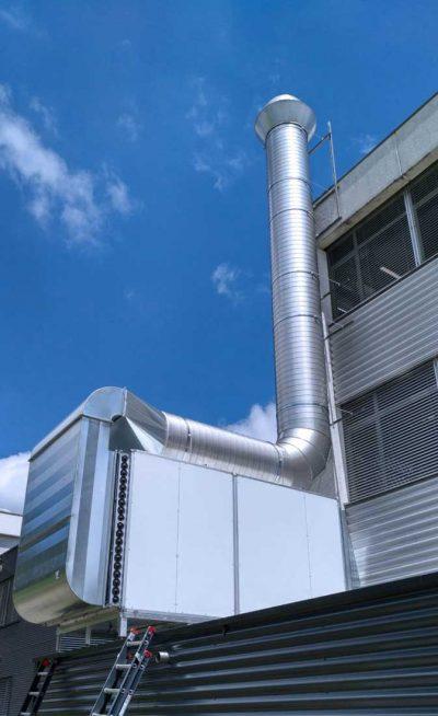 FILTRACON purification de l'air charbon actif Le Crêt-du-Locle