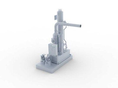 FILTRACON gas scrubber treatment of gas Kestenholz