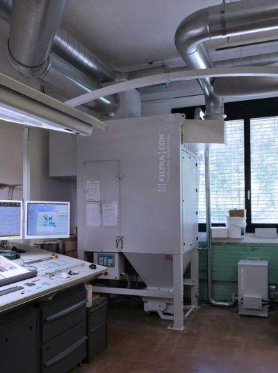 FILTRACON aspiration brouillard filtre à cartouche machine d'impression offset LED UV Birmensdorf