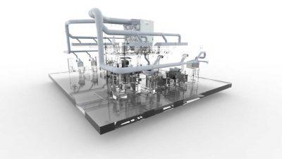 FILTRACON aspiration des fumées filtre à cartouche fonderie Kestenholz