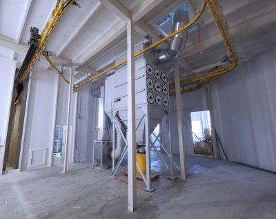 FILTRACON dépoussiérage filtre à cartouche Peinture humide Hochdorf