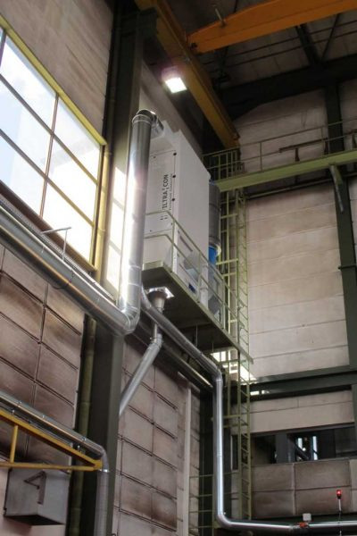 FILTRACON fume extraction welding fume shipyard Lucerne