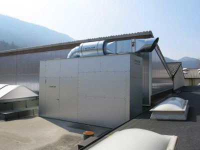 FILTRACON fume and mist collection dipping process Vallorbe