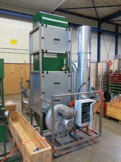 FILTRACON VOC extraction Kestenholz