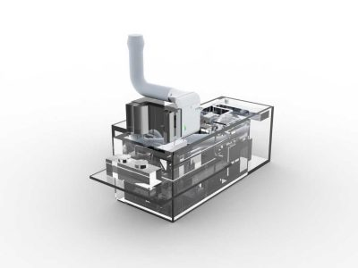 FILTRACON Luftreinigung Aktivkohle Kestenholz