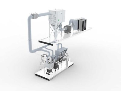 FILTRACON dépoussiérage filtre à cartouche production d'arômes Kestenholz