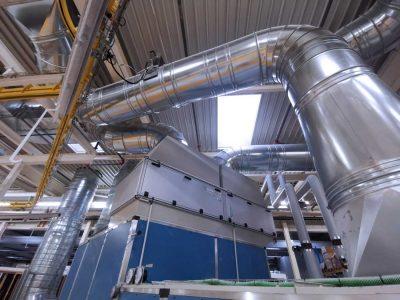 FILTRACON dépoussiérage filtre secondaire Hochdorf