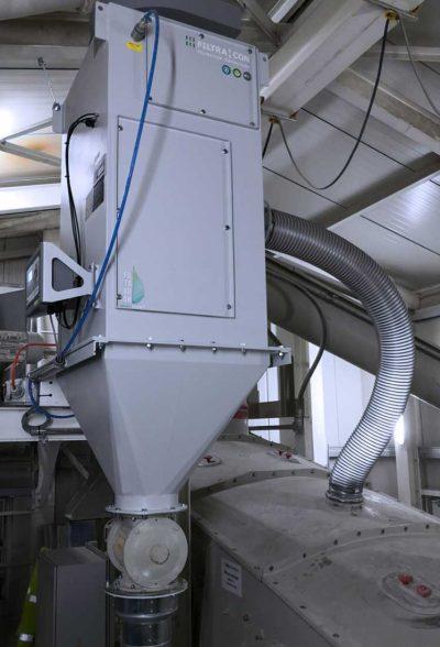 FILTRACON dust collector cartridge collector screen dedusting Boningen