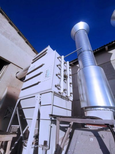 FILTRACON dust collector cartridge collector shotblast and ambiant air cleaning Neuchâtel