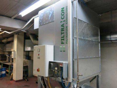 FILTRACON dust collector cartridge collector boron hardening Egerkingen