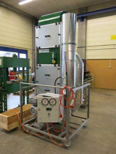 FILTRACON Gasfiltration VOC Kestenholz