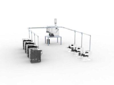 FILTRACON Oelnebelabscheider Werkzeugmaschine zentrale Absauganlage Kestenholz