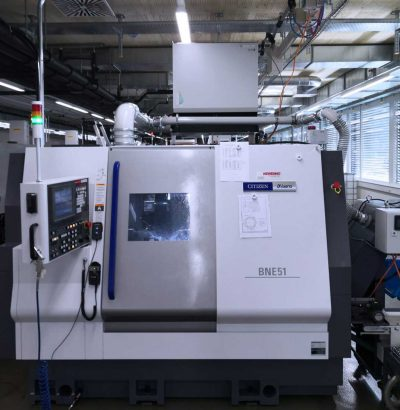 FILTRACON oil mist collector tooling machine Absolent on Miyano Le Noirmont