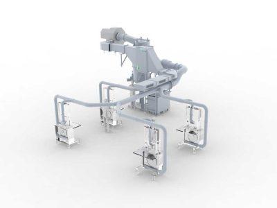 FILTRACON épurateur par voie humide sciage Kestenholz