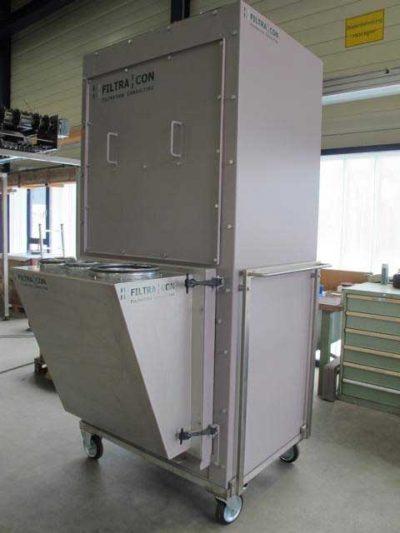 FILTRACON Entstaubung Mobile Entstaubungsanlage Kestenholz