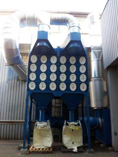 FILTRACON dépoussiérage filtre à cartouche Altendorf