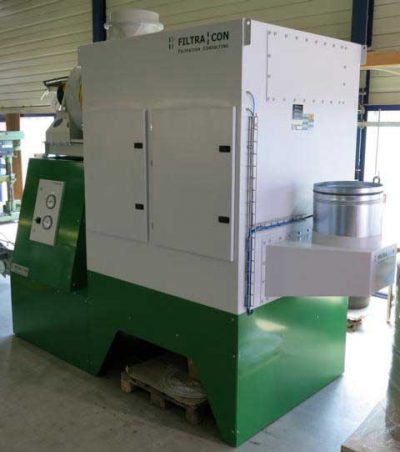 FILTRACON Emulsionsnebelabscheider Spanabhebende Bearbeitung Zentralabsaugung Vallorbe