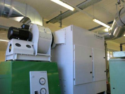 FILTRACON mist collection machining Vallorbe